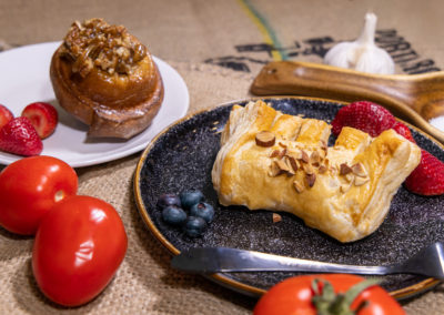 Plated Pastries